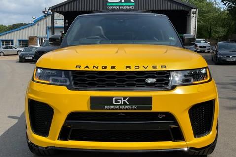 Land Rover Range Rover Sport SVR -RARE PREMIUM PALLETE MATT YELLOW-HEAD UP-ELECTRIC STEPS- SLIDING ROOF 16