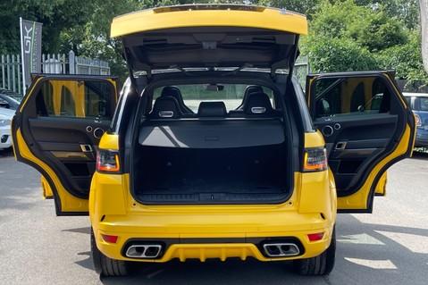 Land Rover Range Rover Sport SVR -RARE PREMIUM PALLETE MATT YELLOW-HEAD UP-ELECTRIC STEPS- SLIDING ROOF 19