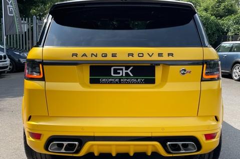 Land Rover Range Rover Sport SVR -RARE PREMIUM PALLETE MATT YELLOW-HEAD UP-ELECTRIC STEPS- SLIDING ROOF 21