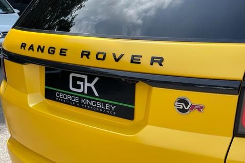 Land Rover Range Rover Sport SVR -RARE PREMIUM PALLETE MATT YELLOW-HEAD UP-ELECTRIC STEPS- SLIDING ROOF 25