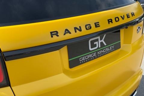 Land Rover Range Rover Sport SVR -RARE PREMIUM PALLETE MATT YELLOW-HEAD UP-ELECTRIC STEPS- SLIDING ROOF 26