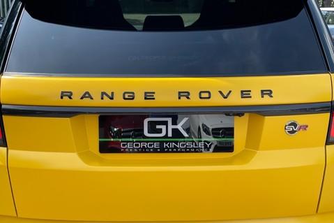 Land Rover Range Rover Sport SVR -RARE PREMIUM PALLETE MATT YELLOW-HEAD UP-ELECTRIC STEPS- SLIDING ROOF 27