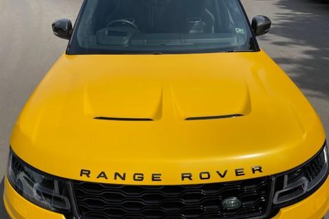 Land Rover Range Rover Sport SVR -RARE PREMIUM PALLETE MATT YELLOW-HEAD UP-ELECTRIC STEPS- SLIDING ROOF 30