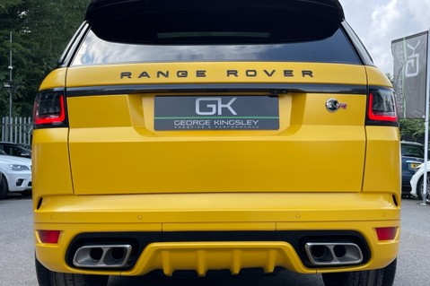 Land Rover Range Rover Sport SVR -RARE PREMIUM PALLETE MATT YELLOW-HEAD UP-ELECTRIC STEPS- SLIDING ROOF 33