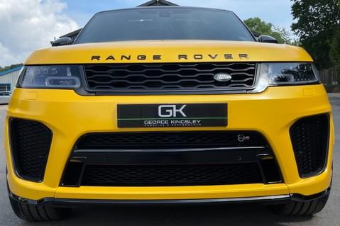 Land Rover Range Rover Sport SVR -RARE PREMIUM PALLETE MATT YELLOW-HEAD UP-ELECTRIC STEPS- SLIDING ROOF 34