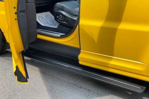 Land Rover Range Rover Sport SVR -RARE PREMIUM PALLETE MATT YELLOW-HEAD UP-ELECTRIC STEPS- SLIDING ROOF 35