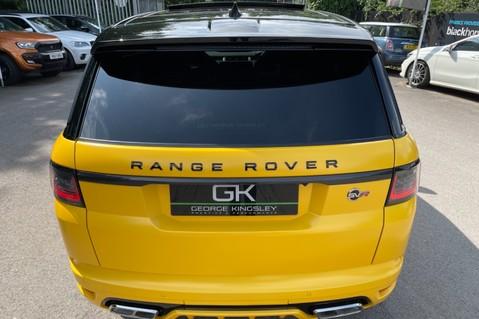 Land Rover Range Rover Sport SVR -RARE PREMIUM PALLETE MATT YELLOW-HEAD UP-ELECTRIC STEPS- SLIDING ROOF 39