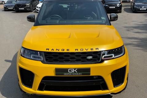 Land Rover Range Rover Sport SVR -RARE PREMIUM PALLETE MATT YELLOW-HEAD UP-ELECTRIC STEPS- SLIDING ROOF 44