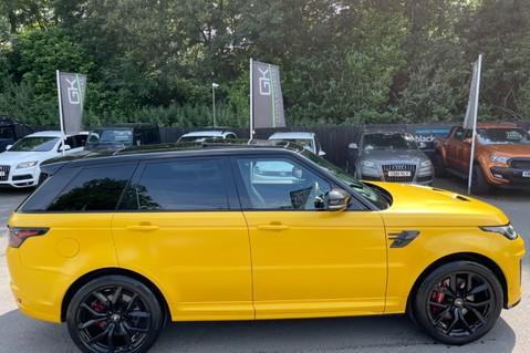 Land Rover Range Rover Sport SVR -RARE PREMIUM PALLETE MATT YELLOW-HEAD UP-ELECTRIC STEPS- SLIDING ROOF 45