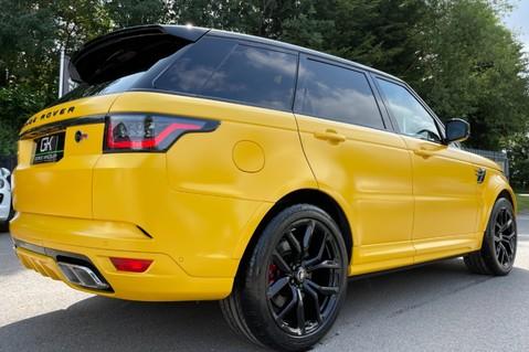 Land Rover Range Rover Sport SVR -RARE PREMIUM PALLETE MATT YELLOW-HEAD UP-ELECTRIC STEPS- SLIDING ROOF 46