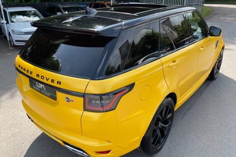 Land Rover Range Rover Sport SVR -RARE PREMIUM PALLETE MATT YELLOW-HEAD UP-ELECTRIC STEPS- SLIDING ROOF 48
