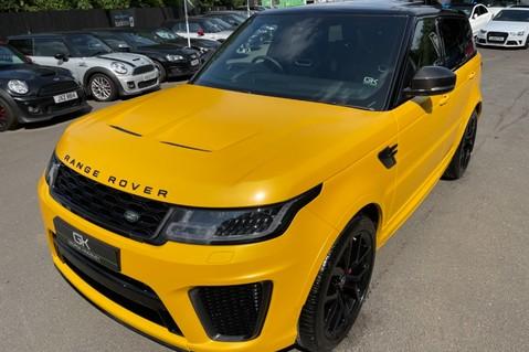 Land Rover Range Rover Sport SVR -RARE PREMIUM PALLETE MATT YELLOW-HEAD UP-ELECTRIC STEPS- SLIDING ROOF 51