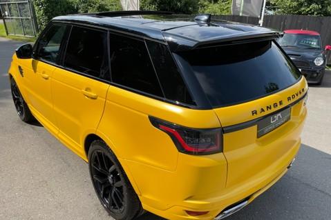 Land Rover Range Rover Sport SVR -RARE PREMIUM PALLETE MATT YELLOW-HEAD UP-ELECTRIC STEPS- SLIDING ROOF 52