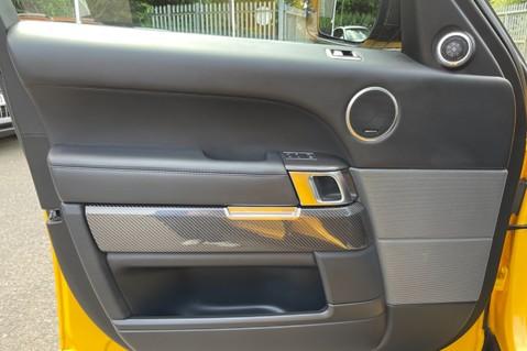 Land Rover Range Rover Sport SVR -RARE PREMIUM PALLETE MATT YELLOW-HEAD UP-ELECTRIC STEPS- SLIDING ROOF 53