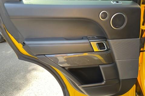 Land Rover Range Rover Sport SVR -RARE PREMIUM PALLETE MATT YELLOW-HEAD UP-ELECTRIC STEPS- SLIDING ROOF 63