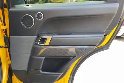 Land Rover Range Rover Sport SVR -RARE PREMIUM PALLETE MATT YELLOW-HEAD UP-ELECTRIC STEPS- SLIDING ROOF 69