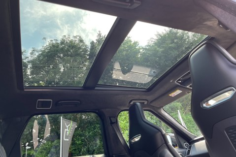 Land Rover Range Rover Sport SVR -RARE PREMIUM PALLETE MATT YELLOW-HEAD UP-ELECTRIC STEPS- SLIDING ROOF 72