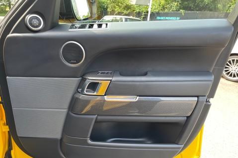 Land Rover Range Rover Sport SVR -RARE PREMIUM PALLETE MATT YELLOW-HEAD UP-ELECTRIC STEPS- SLIDING ROOF 73