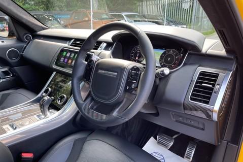 Land Rover Range Rover Sport SVR -RARE PREMIUM PALLETE MATT YELLOW-HEAD UP-ELECTRIC STEPS- SLIDING ROOF 74