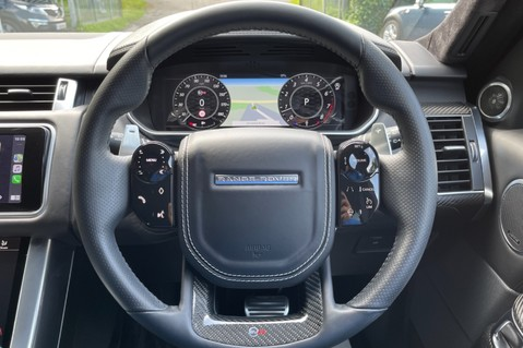 Land Rover Range Rover Sport SVR -RARE PREMIUM PALLETE MATT YELLOW-HEAD UP-ELECTRIC STEPS- SLIDING ROOF 81