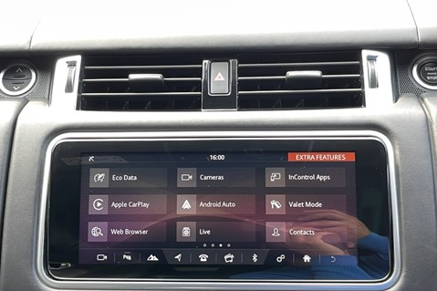 Land Rover Range Rover Sport SVR -RARE PREMIUM PALLETE MATT YELLOW-HEAD UP-ELECTRIC STEPS- SLIDING ROOF 85