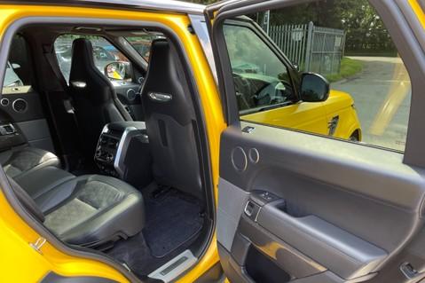 Land Rover Range Rover Sport SVR -RARE PREMIUM PALLETE MATT YELLOW-HEAD UP-ELECTRIC STEPS- SLIDING ROOF 100