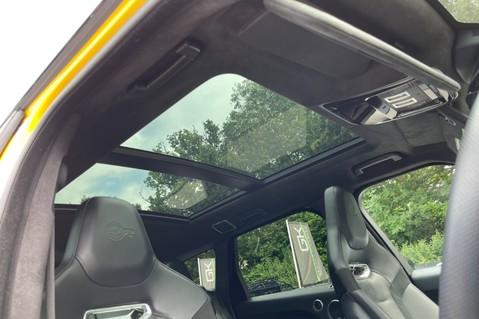Land Rover Range Rover Sport SVR -RARE PREMIUM PALLETE MATT YELLOW-HEAD UP-ELECTRIC STEPS- SLIDING ROOF 107