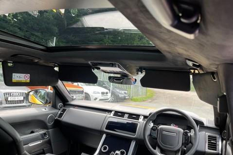 Land Rover Range Rover Sport SVR -RARE PREMIUM PALLETE MATT YELLOW-HEAD UP-ELECTRIC STEPS- SLIDING ROOF 111