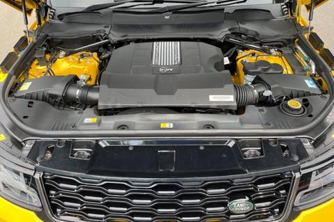 Land Rover Range Rover Sport SVR -RARE PREMIUM PALLETE MATT YELLOW-HEAD UP-ELECTRIC STEPS- SLIDING ROOF 115