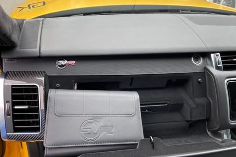 Land Rover Range Rover Sport SVR -RARE PREMIUM PALLETE MATT YELLOW-HEAD UP-ELECTRIC STEPS- SLIDING ROOF 116