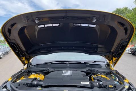 Land Rover Range Rover Sport SVR -RARE PREMIUM PALLETE MATT YELLOW-HEAD UP-ELECTRIC STEPS- SLIDING ROOF 120
