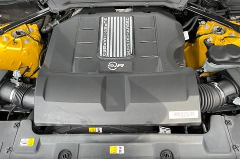 Land Rover Range Rover Sport SVR -RARE PREMIUM PALLETE MATT YELLOW-HEAD UP-ELECTRIC STEPS- SLIDING ROOF 121