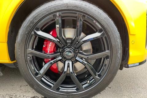 Land Rover Range Rover Sport SVR -RARE PREMIUM PALLETE MATT YELLOW-HEAD UP-ELECTRIC STEPS- SLIDING ROOF 123
