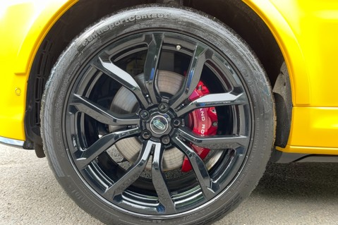 Land Rover Range Rover Sport SVR -RARE PREMIUM PALLETE MATT YELLOW-HEAD UP-ELECTRIC STEPS- SLIDING ROOF 126