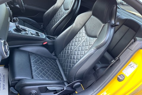 Audi TT TTS TFSI QUATTRO - VEGAS YELLOW- 20 INCH ALLOYS- CRUISE- HIGHBEAM ASSIST 3