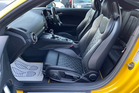 Audi TT TTS TFSI QUATTRO - VEGAS YELLOW- 20 INCH ALLOYS- CRUISE- HIGHBEAM ASSIST 32