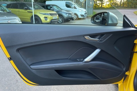 Audi TT TTS TFSI QUATTRO - VEGAS YELLOW- 20 INCH ALLOYS- CRUISE- HIGHBEAM ASSIST 34