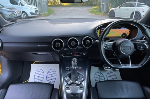 Audi TT TTS TFSI QUATTRO - VEGAS YELLOW- 20 INCH ALLOYS- CRUISE- HIGHBEAM ASSIST 10