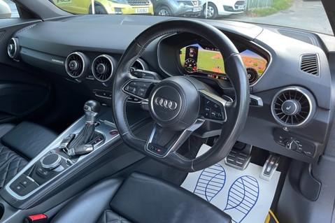 Audi TT TTS TFSI QUATTRO - VEGAS YELLOW- 20 INCH ALLOYS- CRUISE- HIGHBEAM ASSIST 12