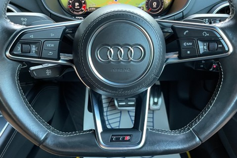 Audi TT TTS TFSI QUATTRO - VEGAS YELLOW- 20 INCH ALLOYS- CRUISE- HIGHBEAM ASSIST 57