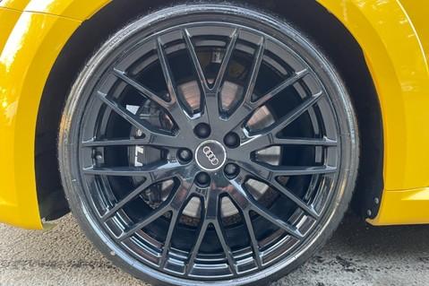 Audi TT TTS TFSI QUATTRO - VEGAS YELLOW- 20 INCH ALLOYS- CRUISE- HIGHBEAM ASSIST 75