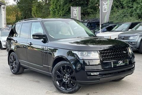 Land Rover Range Rover TDV6 VOGUE SE- EURO 6 / ULEZ READY - ALL BLACK + IVORY LEATHER -DIGITAL TV 1