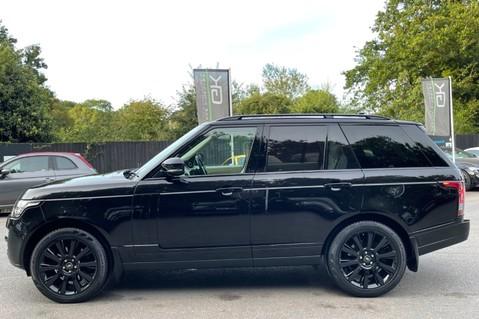 Land Rover Range Rover TDV6 VOGUE SE- EURO 6 / ULEZ READY - ALL BLACK + IVORY LEATHER -DIGITAL TV 8