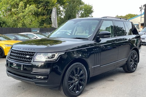 Land Rover Range Rover TDV6 VOGUE SE- EURO 6 / ULEZ READY - ALL BLACK + IVORY LEATHER -DIGITAL TV 9