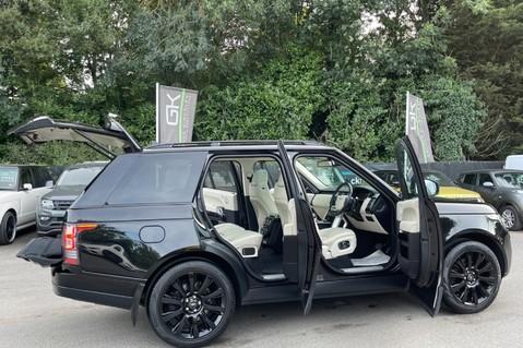 Land Rover Range Rover TDV6 VOGUE SE- EURO 6 / ULEZ READY - ALL BLACK + IVORY LEATHER -DIGITAL TV 14