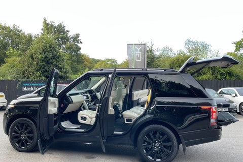 Land Rover Range Rover TDV6 VOGUE SE- EURO 6 / ULEZ READY - ALL BLACK + IVORY LEATHER -DIGITAL TV 15