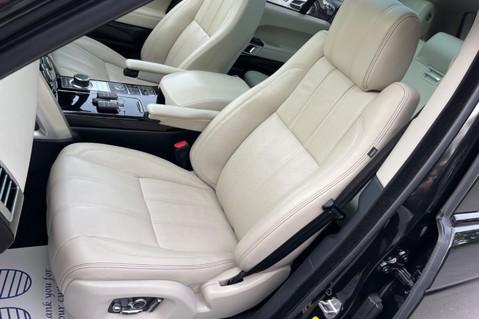 Land Rover Range Rover TDV6 VOGUE SE- EURO 6 / ULEZ READY - ALL BLACK + IVORY LEATHER -DIGITAL TV 3