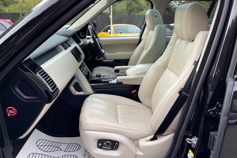 Land Rover Range Rover TDV6 VOGUE SE- EURO 6 / ULEZ READY - ALL BLACK + IVORY LEATHER -DIGITAL TV 22