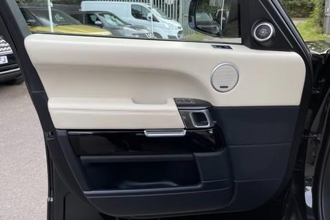 Land Rover Range Rover TDV6 VOGUE SE- EURO 6 / ULEZ READY - ALL BLACK + IVORY LEATHER -DIGITAL TV 24