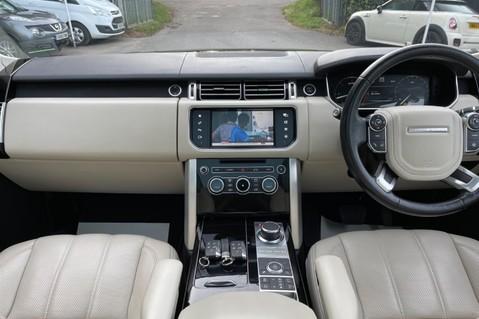 Land Rover Range Rover TDV6 VOGUE SE- EURO 6 / ULEZ READY - ALL BLACK + IVORY LEATHER -DIGITAL TV 7